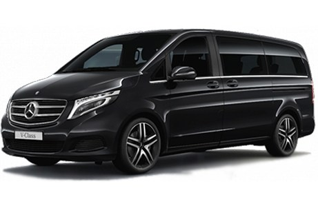 mercedes class v xl 7 places where the action is. Black Bedroom Furniture Sets. Home Design Ideas